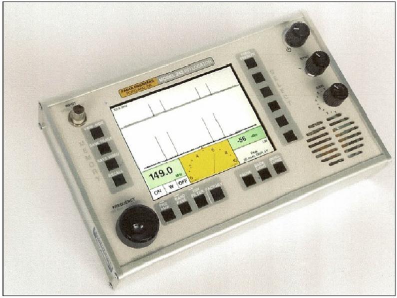 Model 243 PD/RFI Locator - Martec Asset Solutions